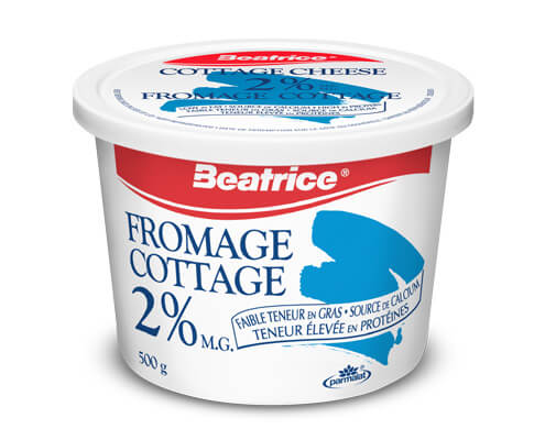 Fromage cottage 2 % 500 g